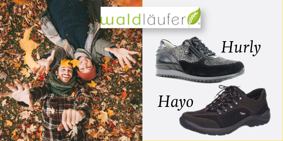 Waldlaufer 2020 winter footwear range promo image