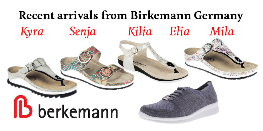 Berkemann promo imsage for recent arrivals summer 2019